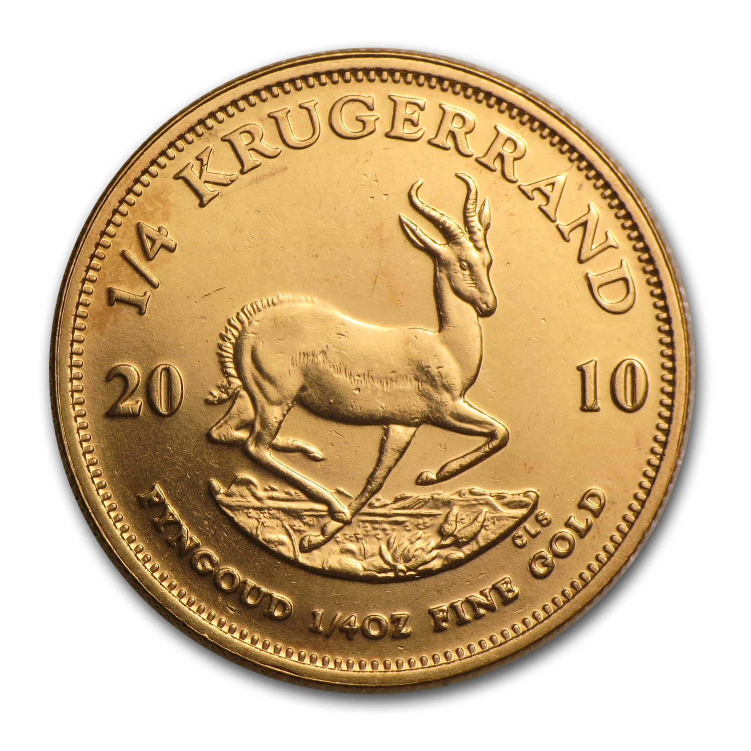 2010 South Africa 1/4 oz Gold Krugerrand