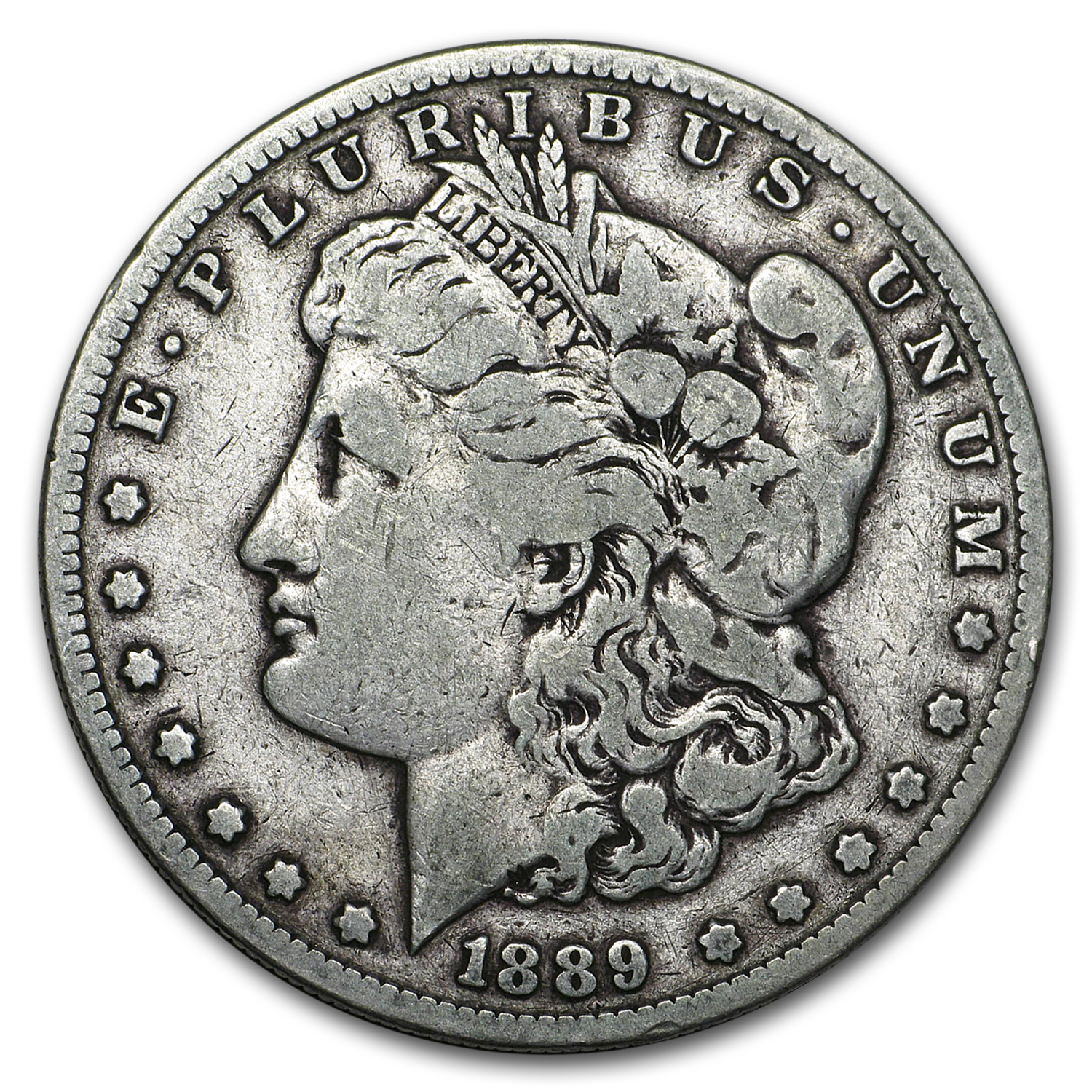 1889-S Morgan Dollar Fine