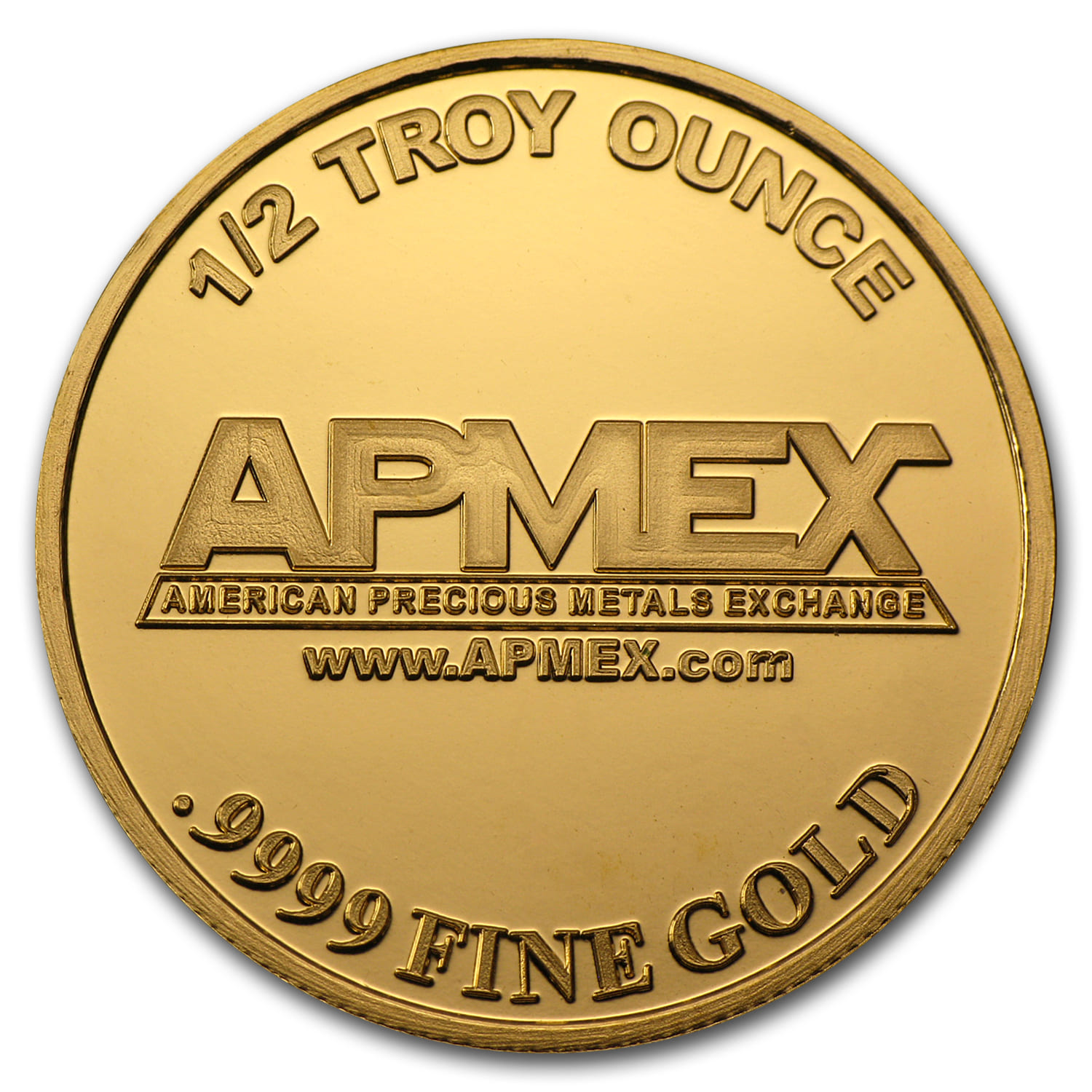 1/2 oz Gold Round - APMEX (Sept 11th)