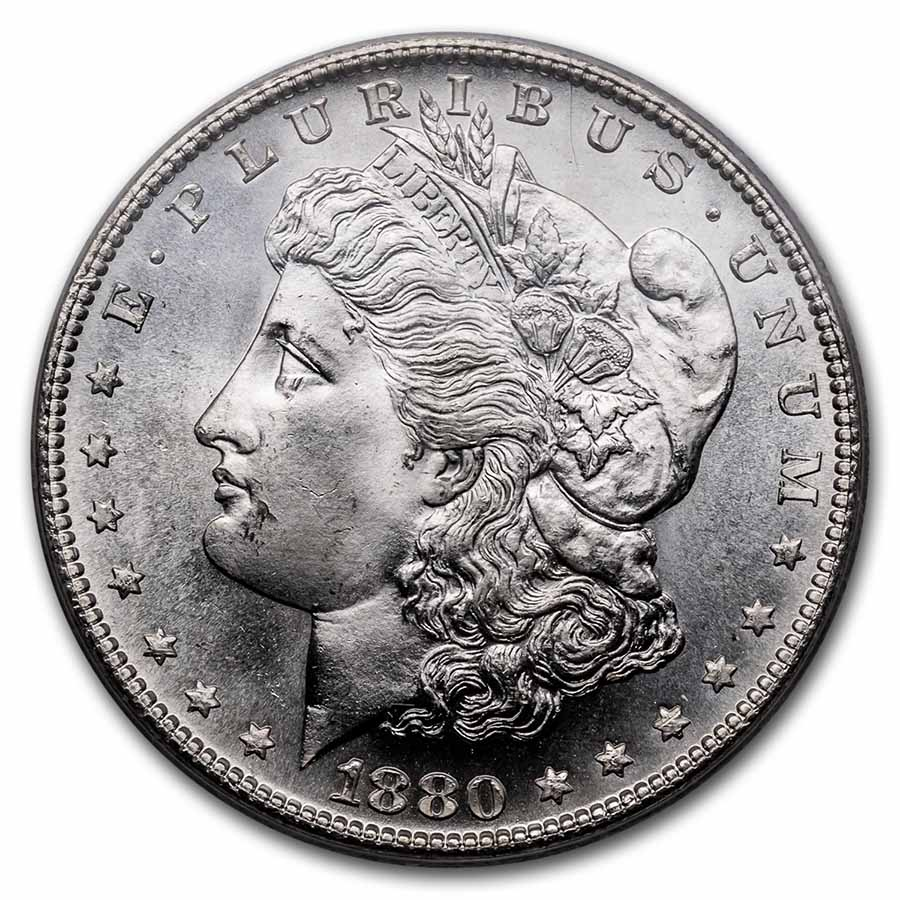 1880-S Morgan Dollar - MS-67 PCGS