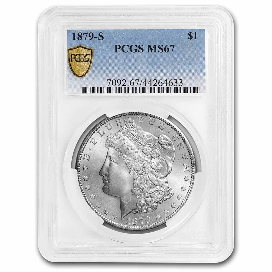 1879-S Morgan Dollar - MS-67 PCGS