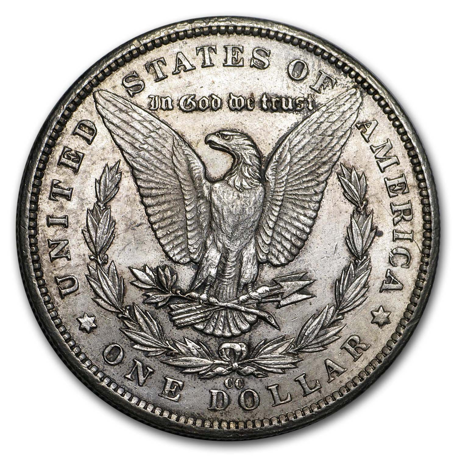 1881-CC Morgan Dollar AU