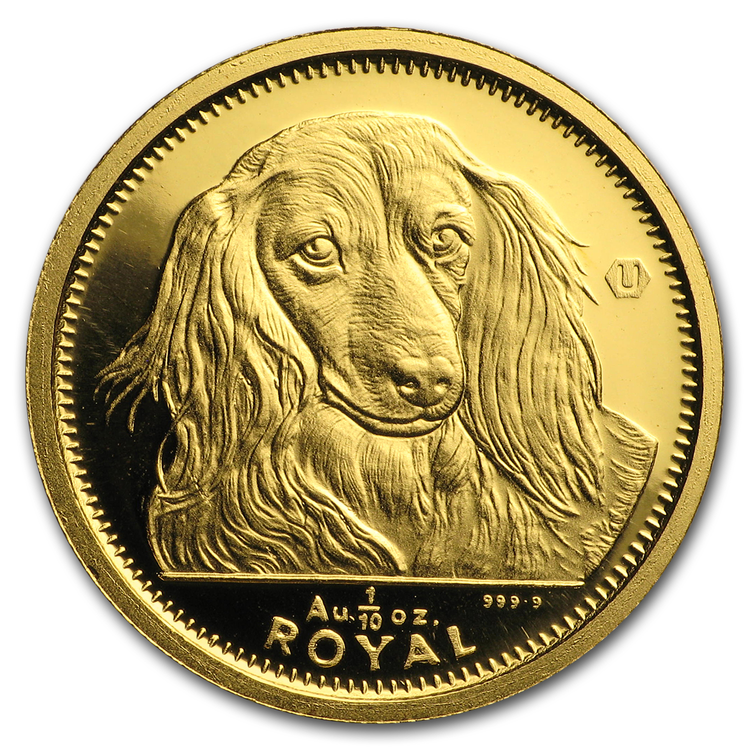 Gibraltar Gold 1/10 oz Dog (Random Dates)