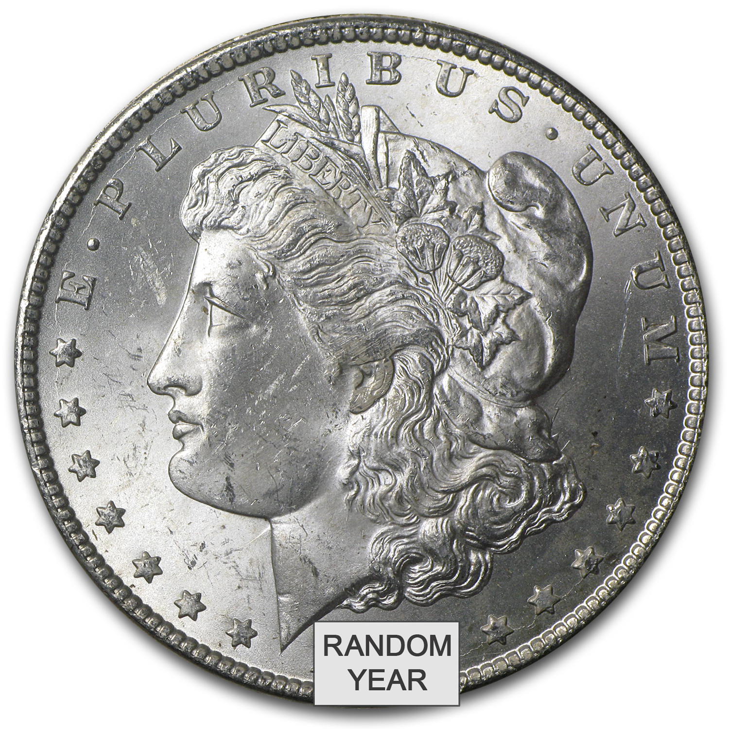 1882-1884-CC Morgan Dollar Brilliant Uncirculated - GSA Holder