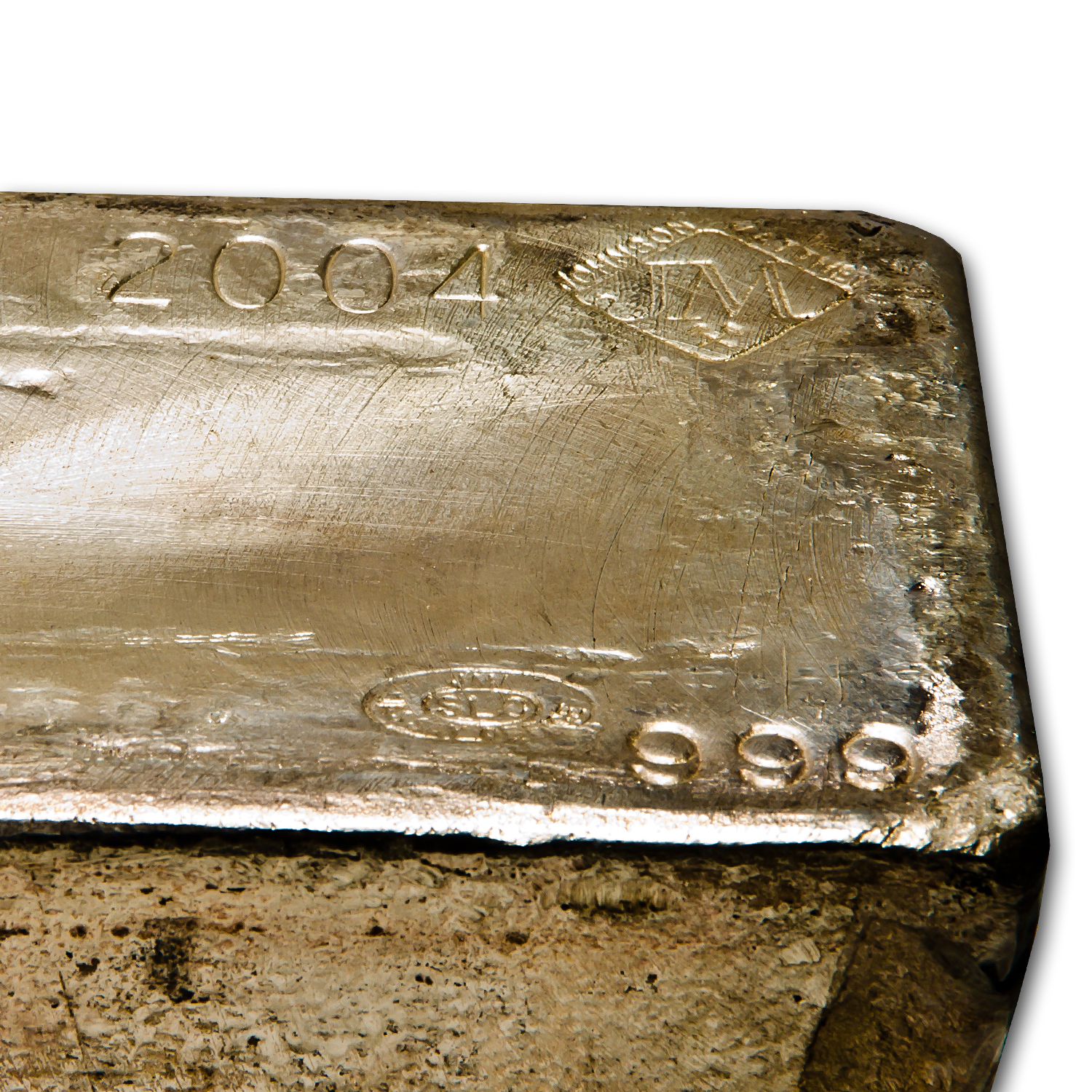 964.40 oz Silver Bar - Johnson Matthey