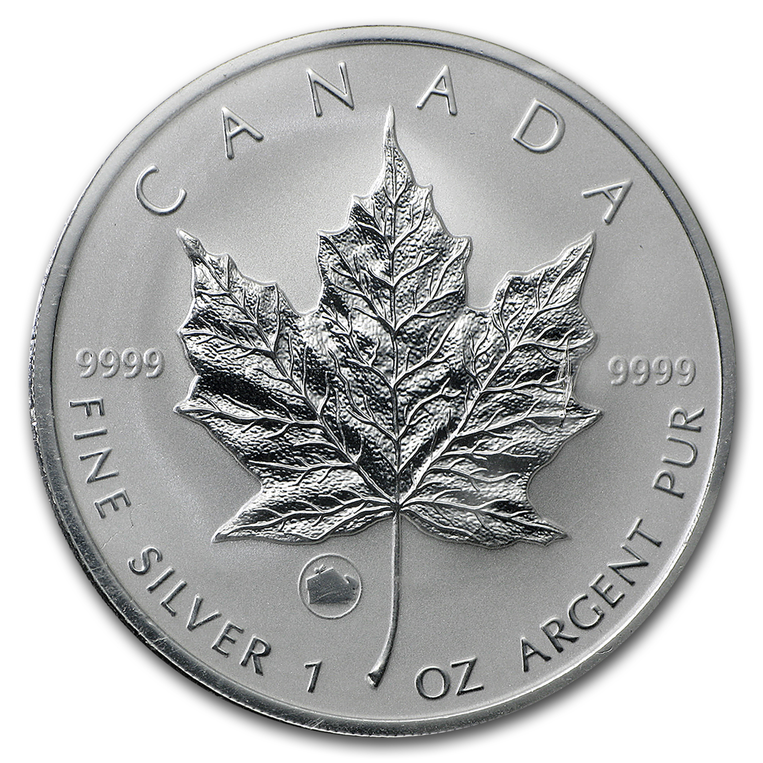 2009 Canada 1 oz Silver Maple Leaf Lunar OX Privy