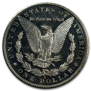 1880-S Morgan Dollar - MS-63 DMPL Deep Mirror Proof Like PCGS