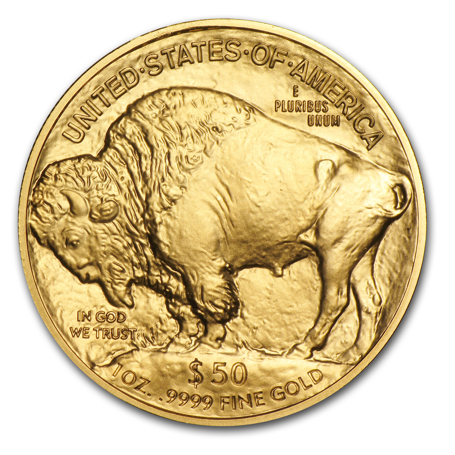 2008 1 oz Gold Buffalo Celebration Coin BU
