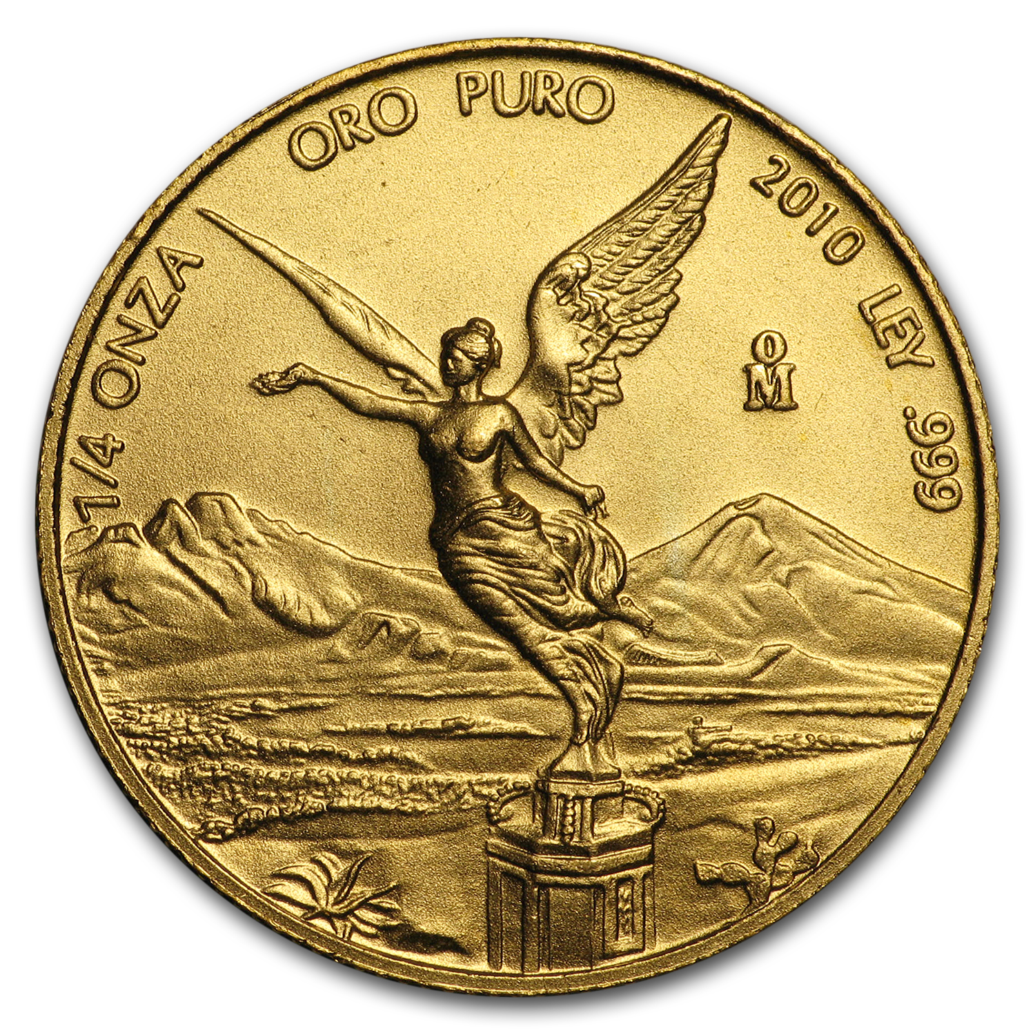 2010 Mexico 1/4 oz Gold Libertad BU