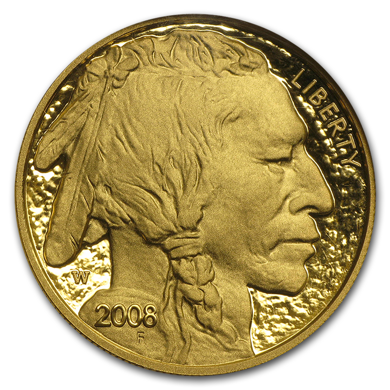 2008-W 1 oz Proof Gold Buffalo PF-70 NGC (ER)