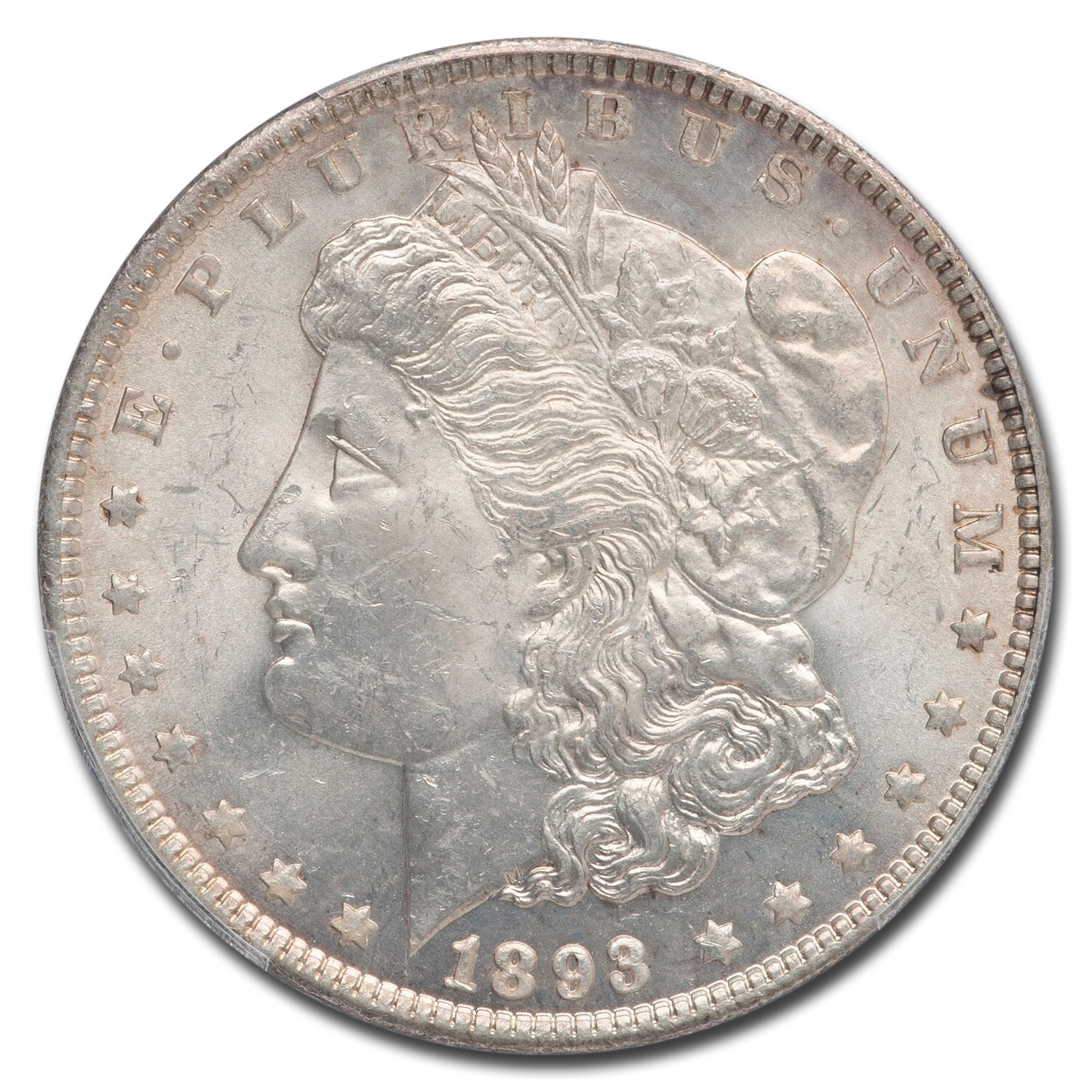 1893 Morgan Dollar MS-62 PCGS
