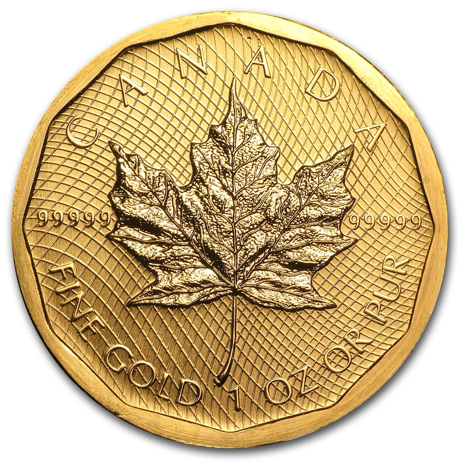 2009 Canada 1 oz Gold Maple Leaf .99999 BU (No Assay)
