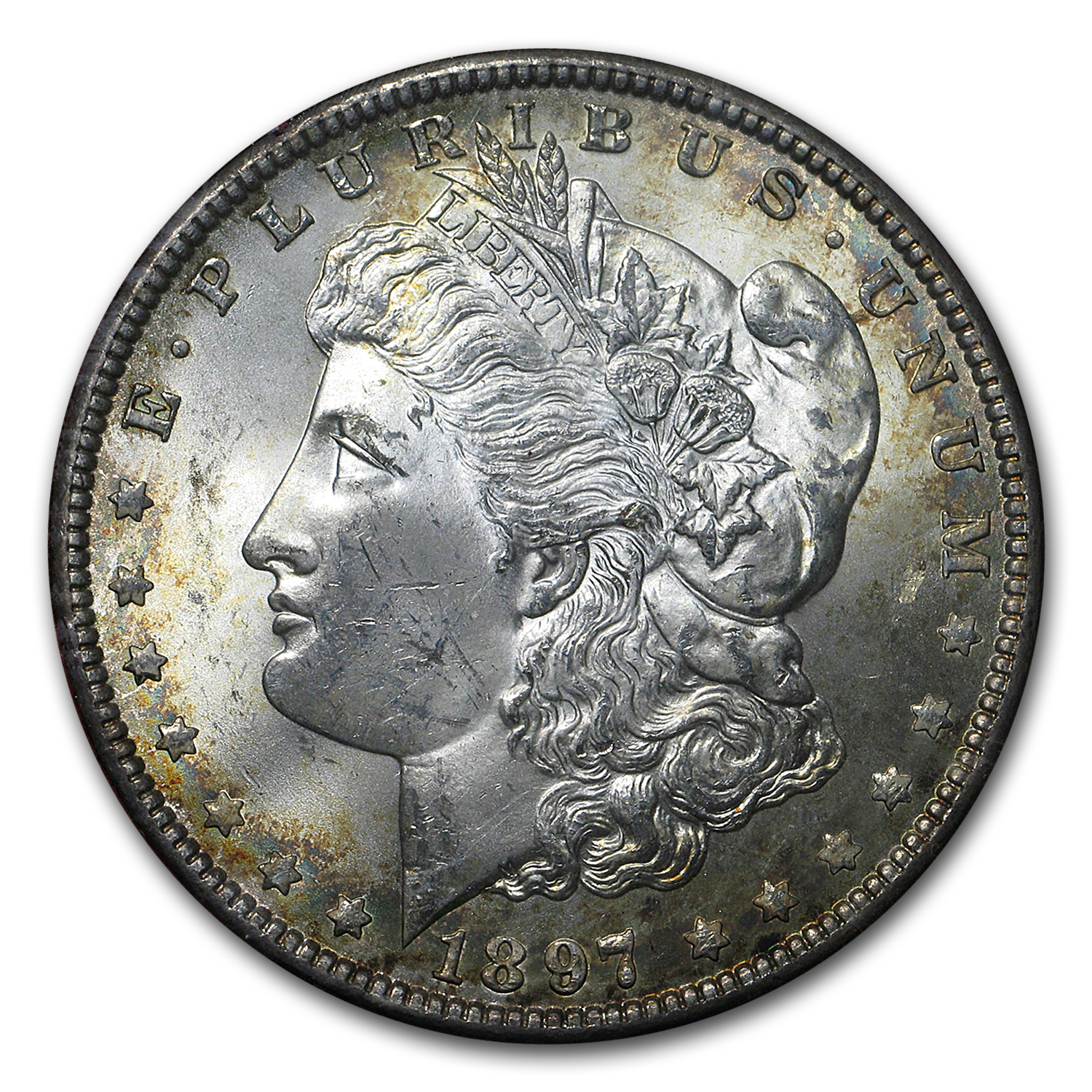 1897 Morgan Dollar MS-65 (Redfield Hoard)