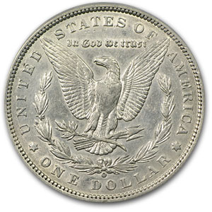 1888-O Morgan Silver Dollar AU-50 PCGS (VAM-7, A Shooting Star)