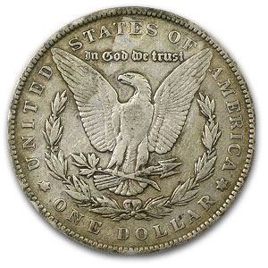 1891 Morgan Dollar VF-35 PCGS VAM-2A Moustache Top-100