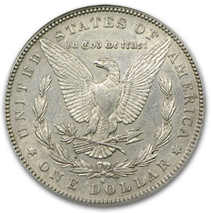 1886-S Morgan Dollar AU-53 NGC