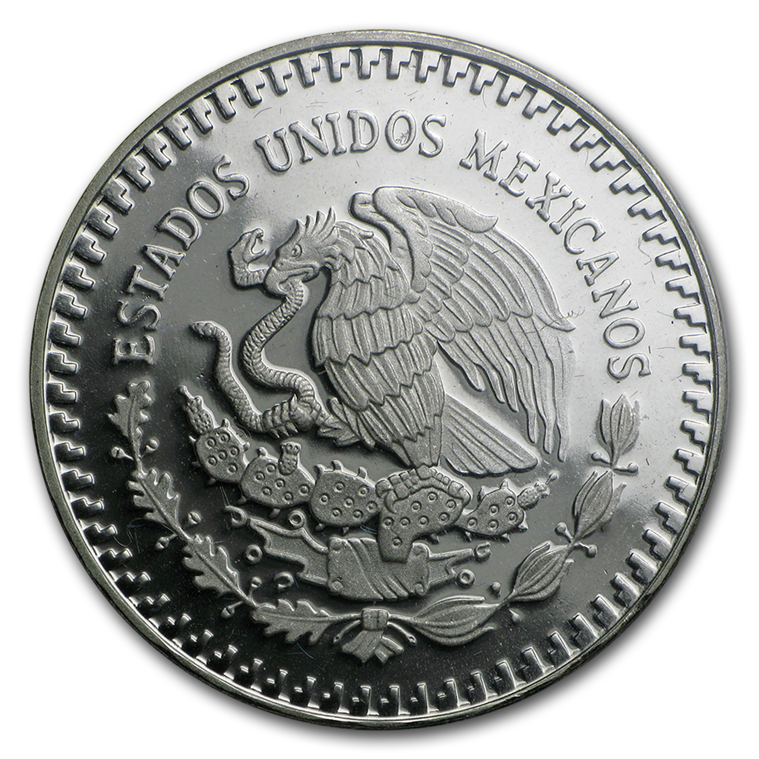 1986 1 oz Silver Mexican Libertad - Proof (w/Box & CoA)