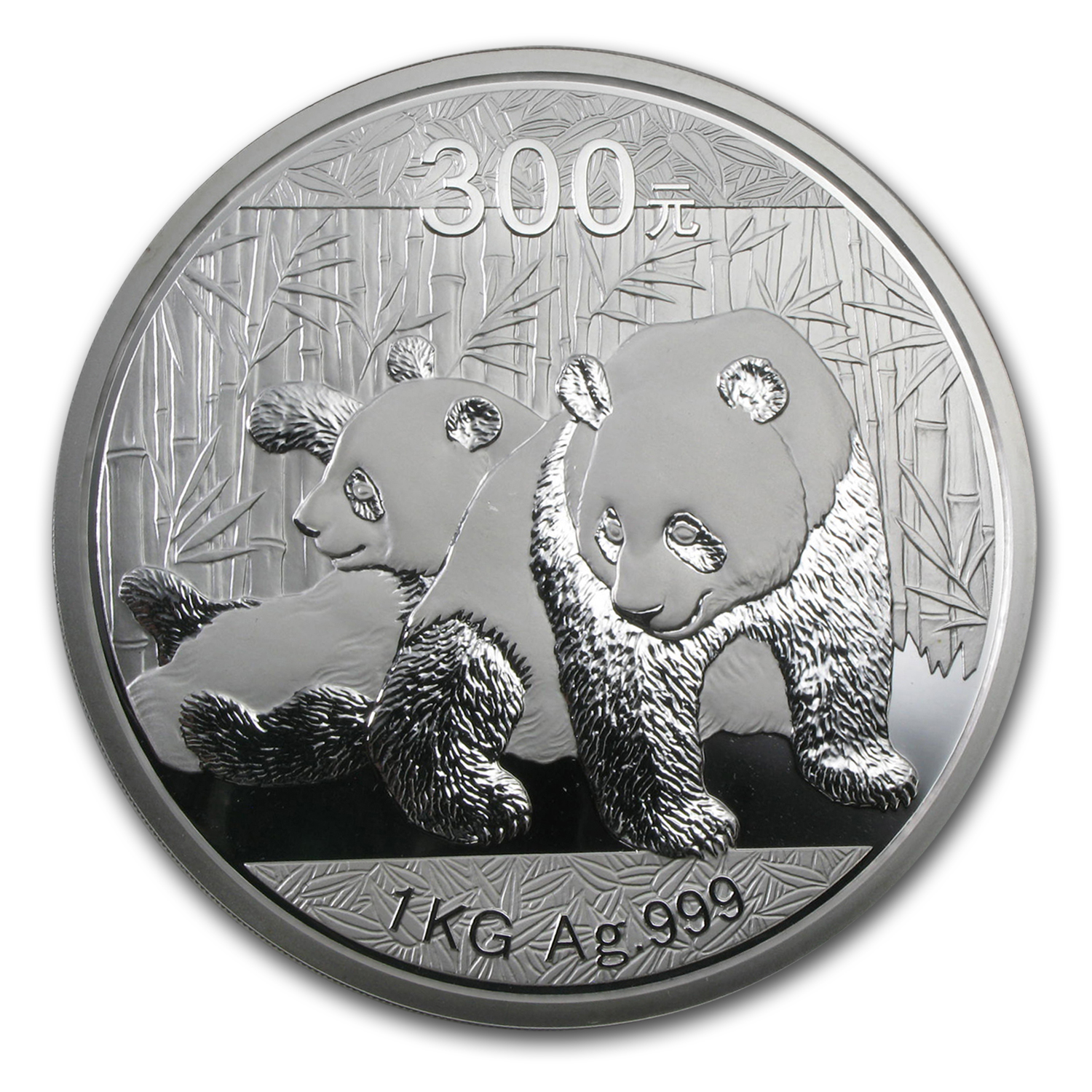 2010 1 Kilo Silver Chinese Panda Proof (w/Box & COA)