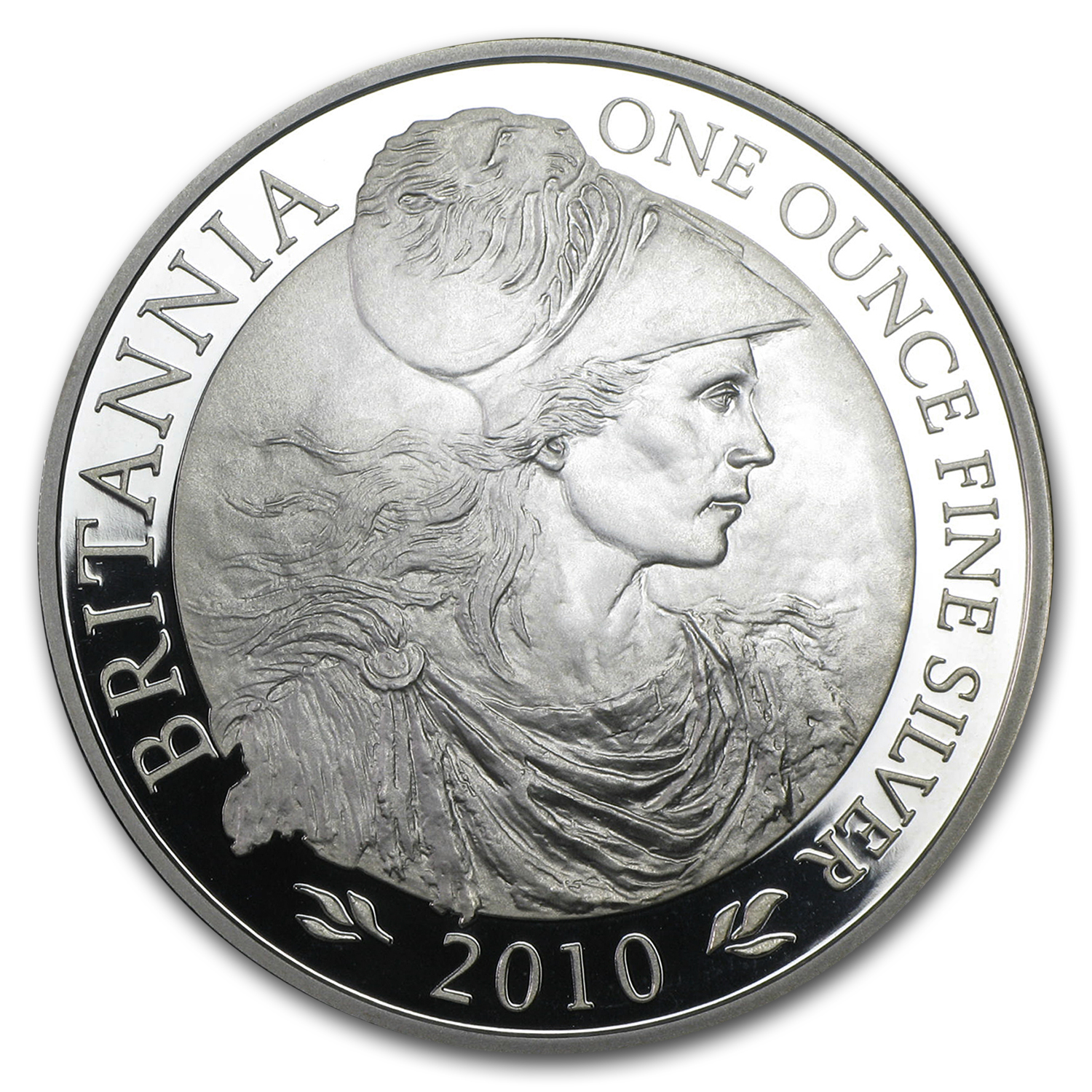2010 1 oz Silver Britannia Proof (w/Box & COA)