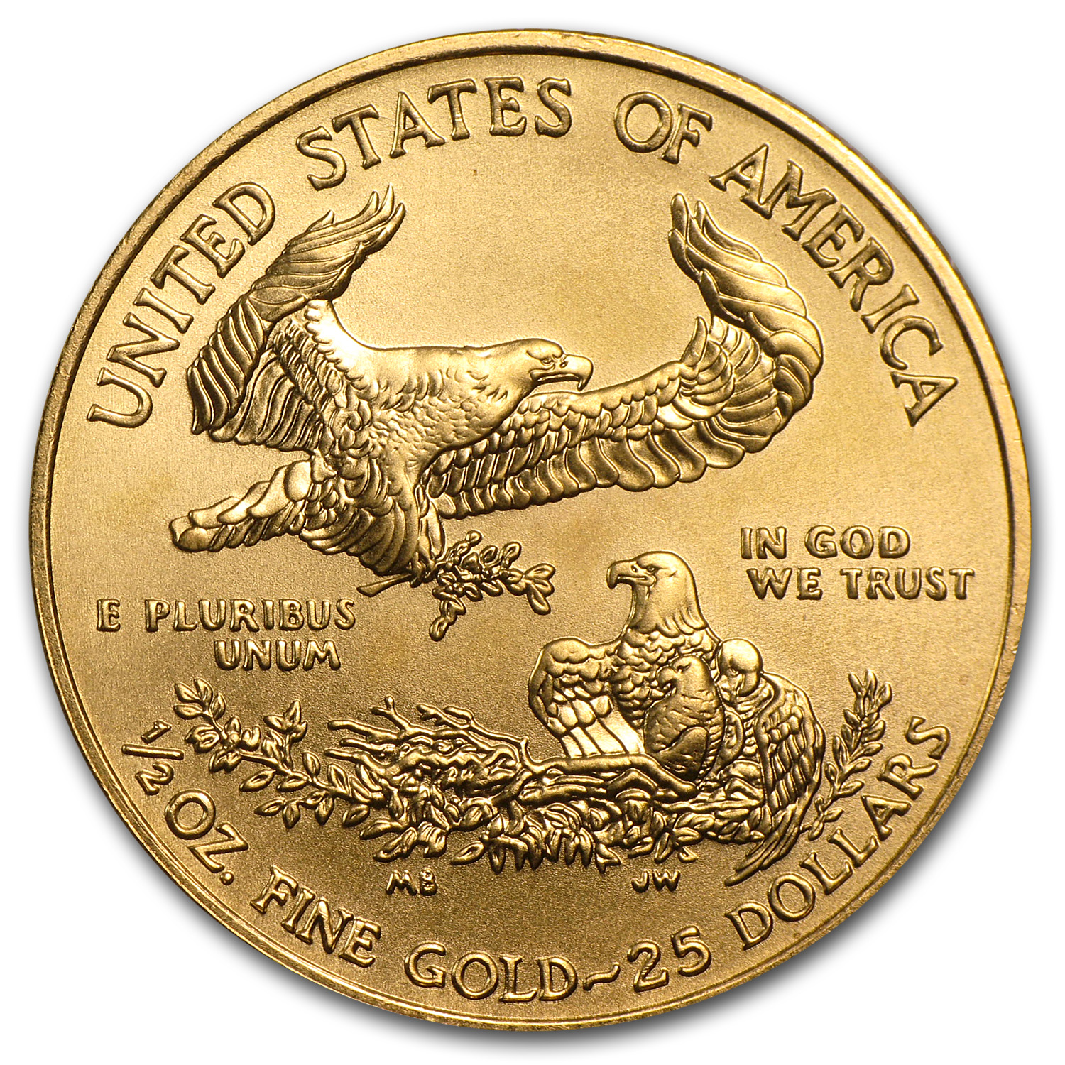 2010 1/2 oz Gold American Eagle (BU)