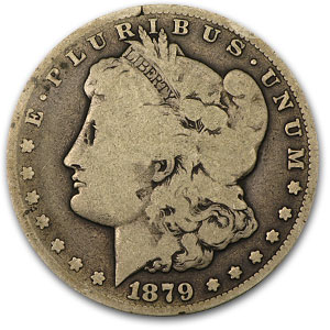 1879-CC Morgan Dollar Good (Capped CC)