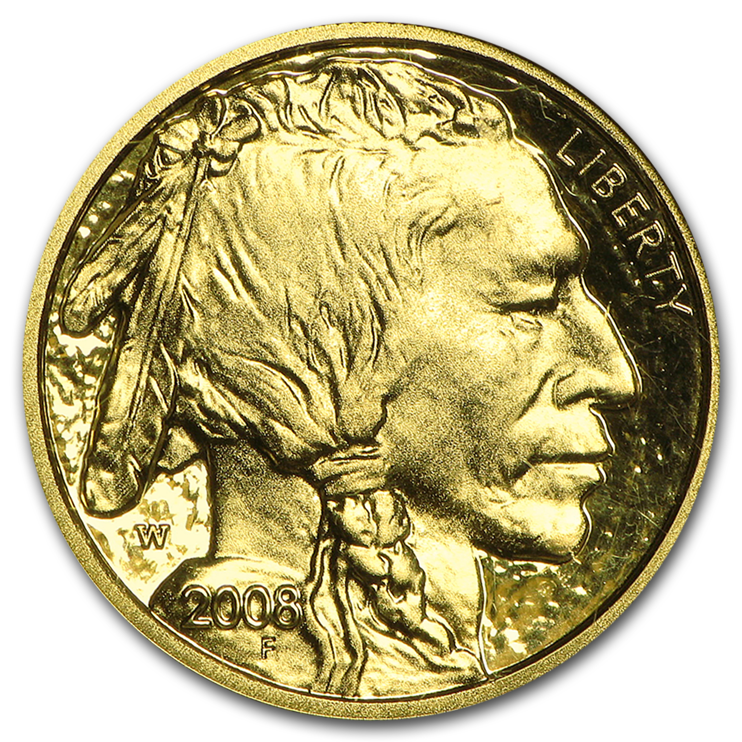 2008-W 1/10 oz Gold Buffalo PF-70 NGC (Early Releases)