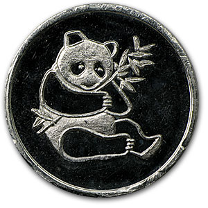 1/4 oz Silver Rounds - Panda (Trade Unit)