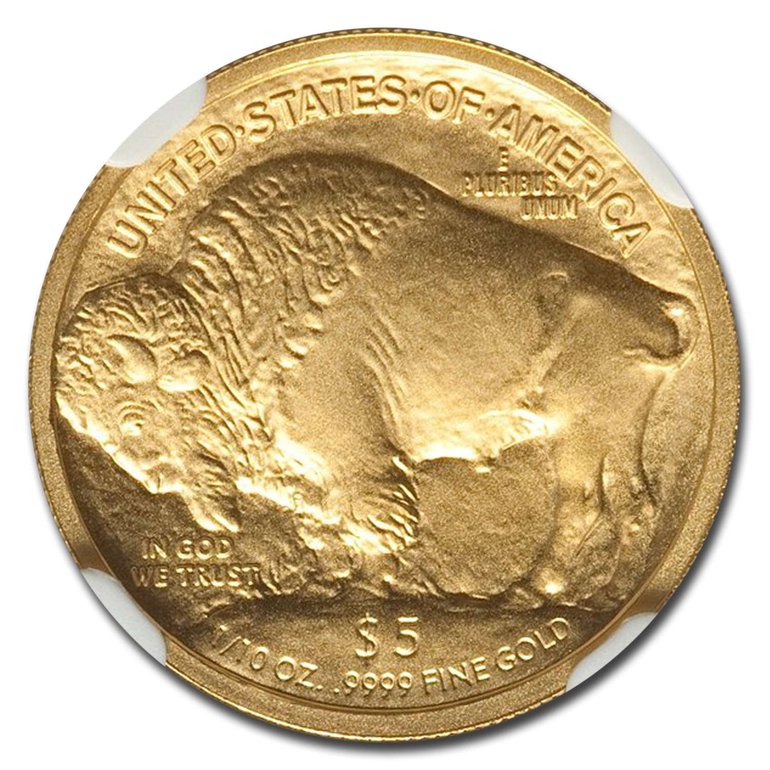 2008-W 1/10 oz Gold Buffalo MS-70 NGC