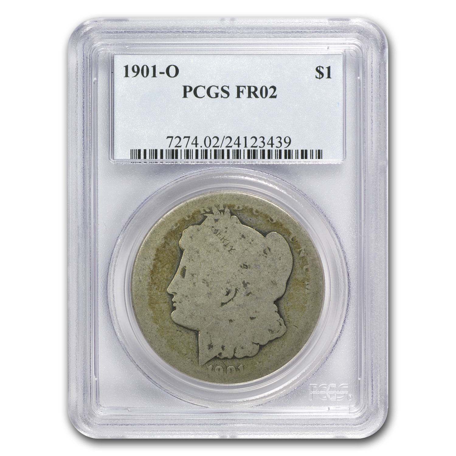 1901-O Morgan Dollar Fair-2 PCGS (Low Ball Registry)