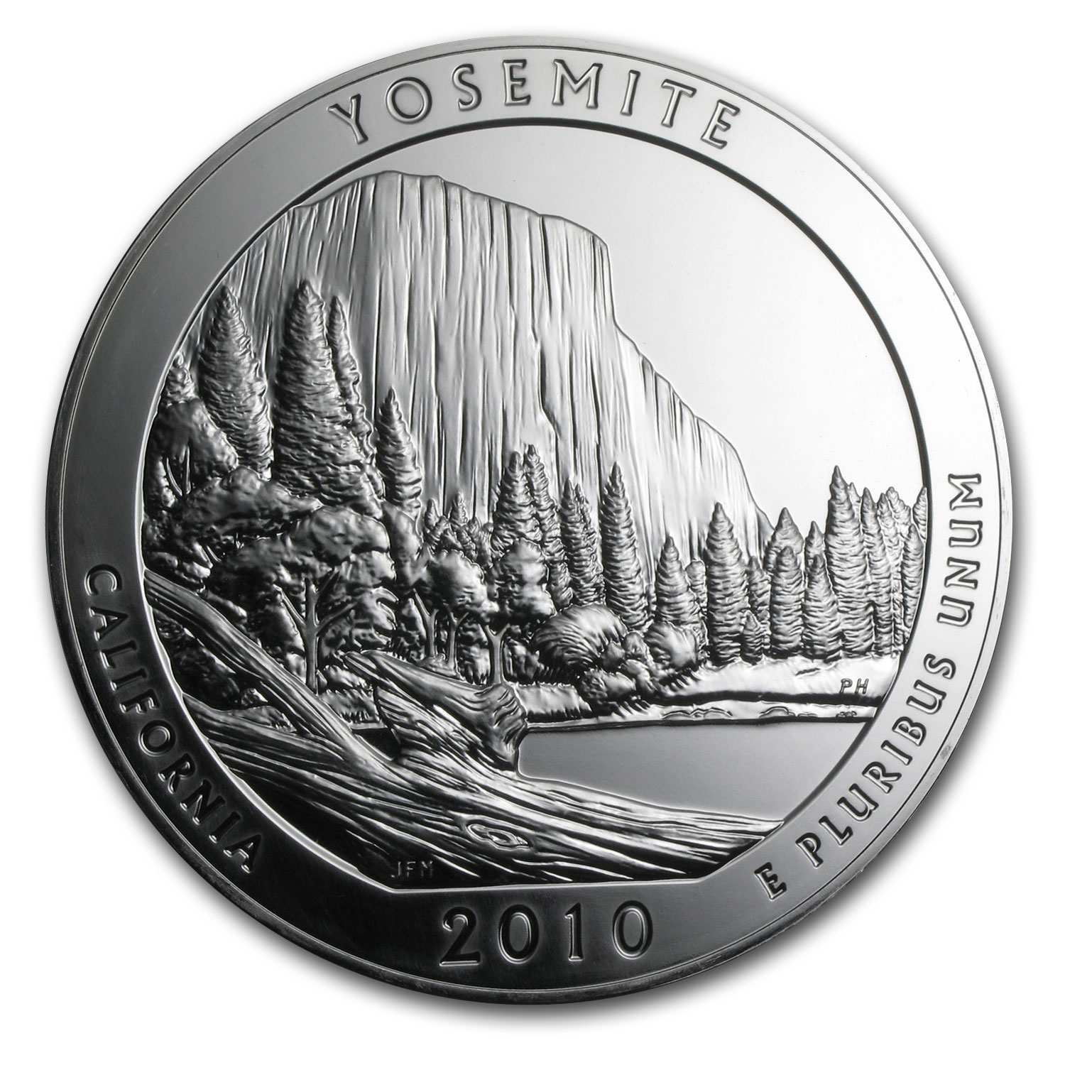 2010 5 oz Silver ATB Yosemite National Park, CA