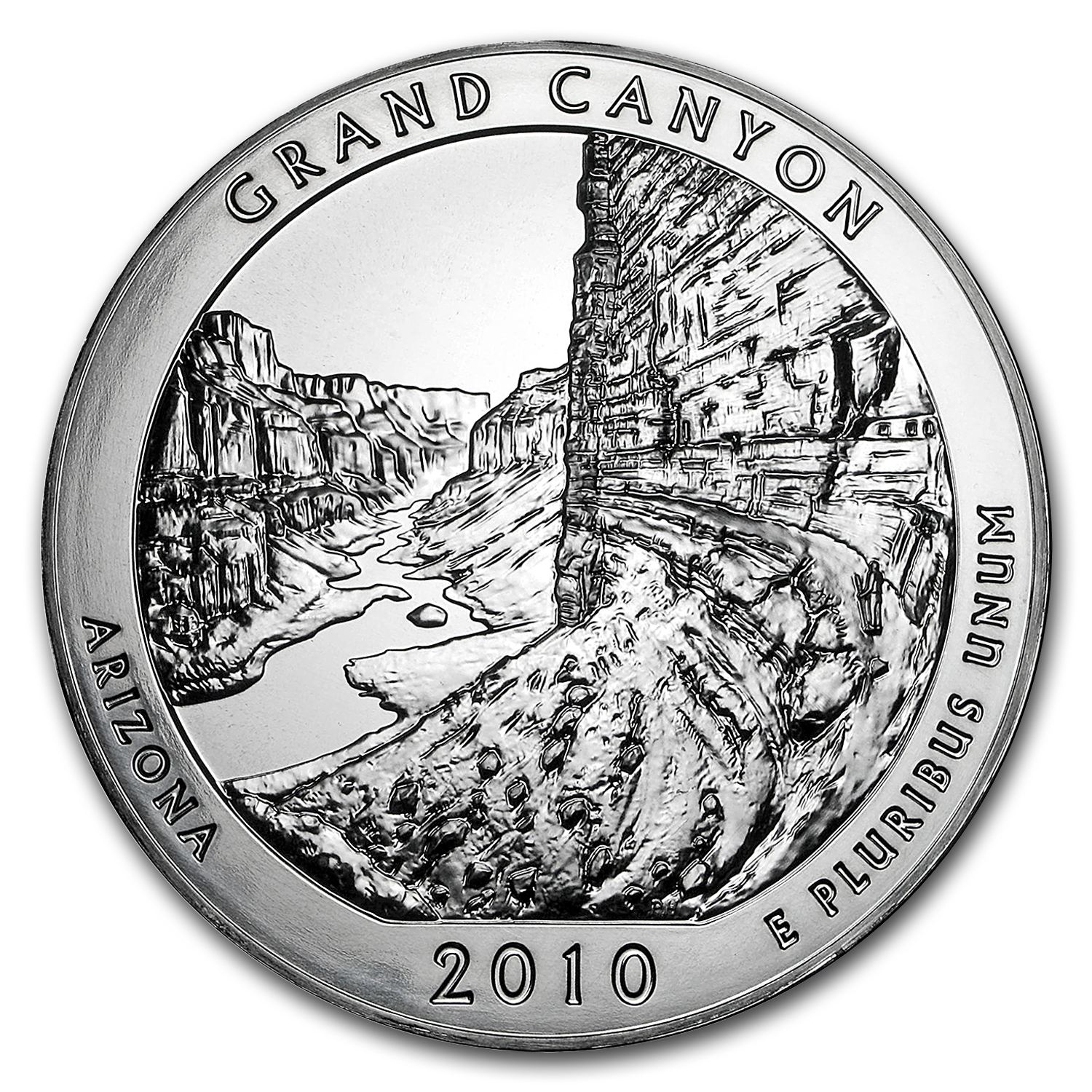 2010 5 oz Silver ATB Grand Canyon National Park, AZ