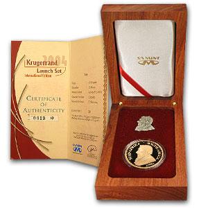 2004 South Africa 1 Oz Proof Gold Krugerrand 1 Oz Proof
