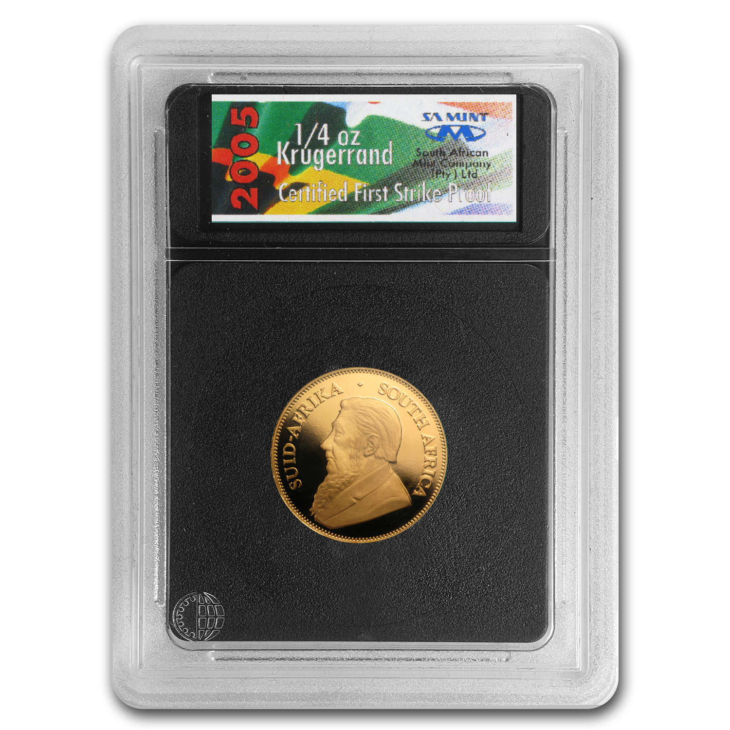 2005 South Africa 4-Coin Gold Krugerrand Proof Set (FS)