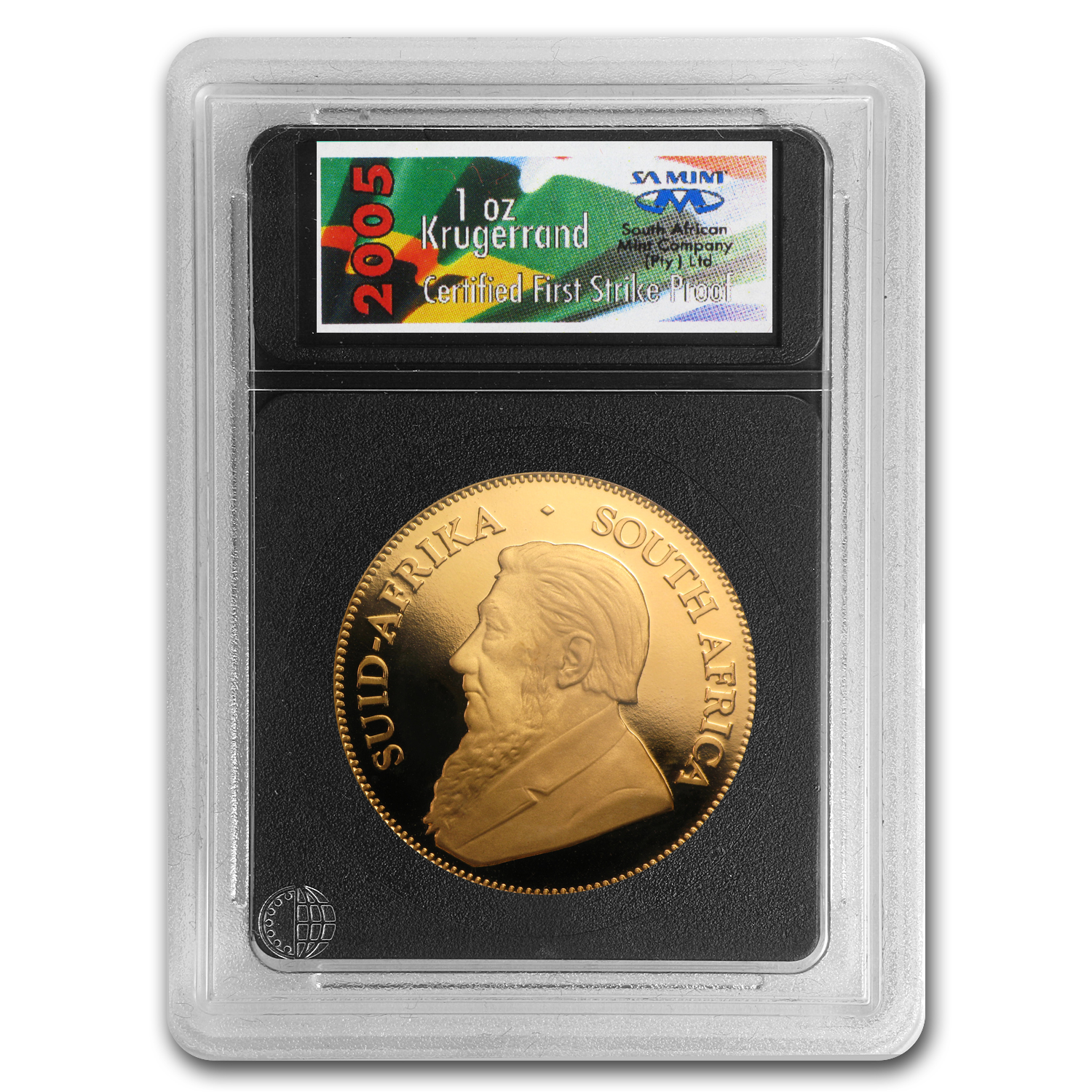 2005 4-Coin Gold South African Krugerrand Proof Set (FS)