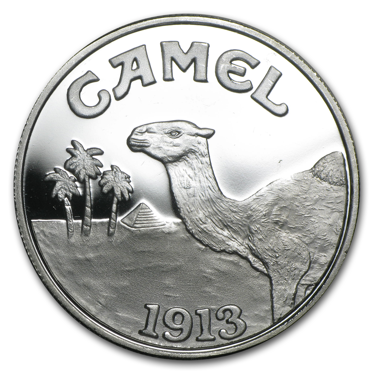 1 oz Silver Rounds - CAMEL