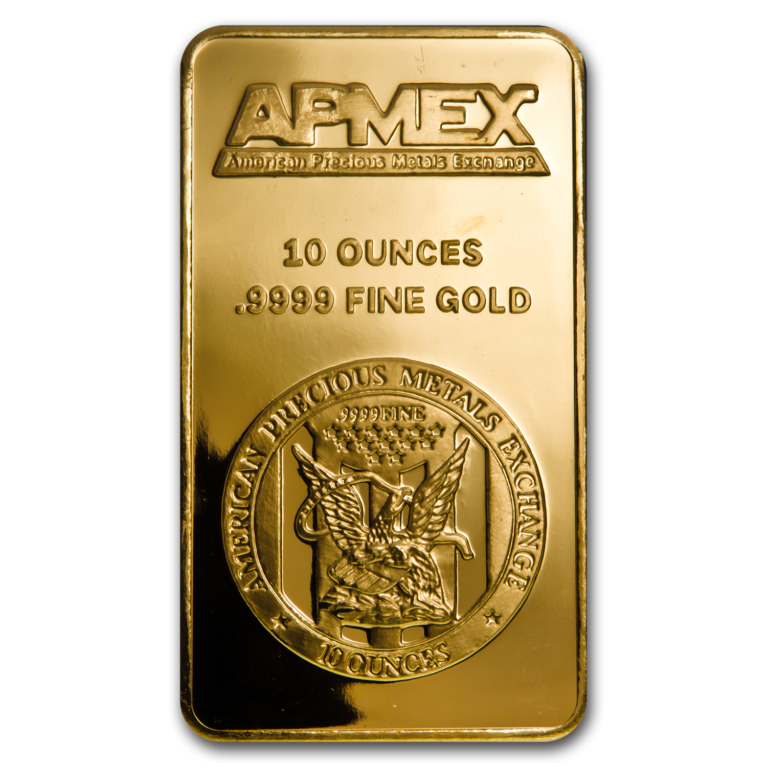10 oz Gold Bar - APMEX