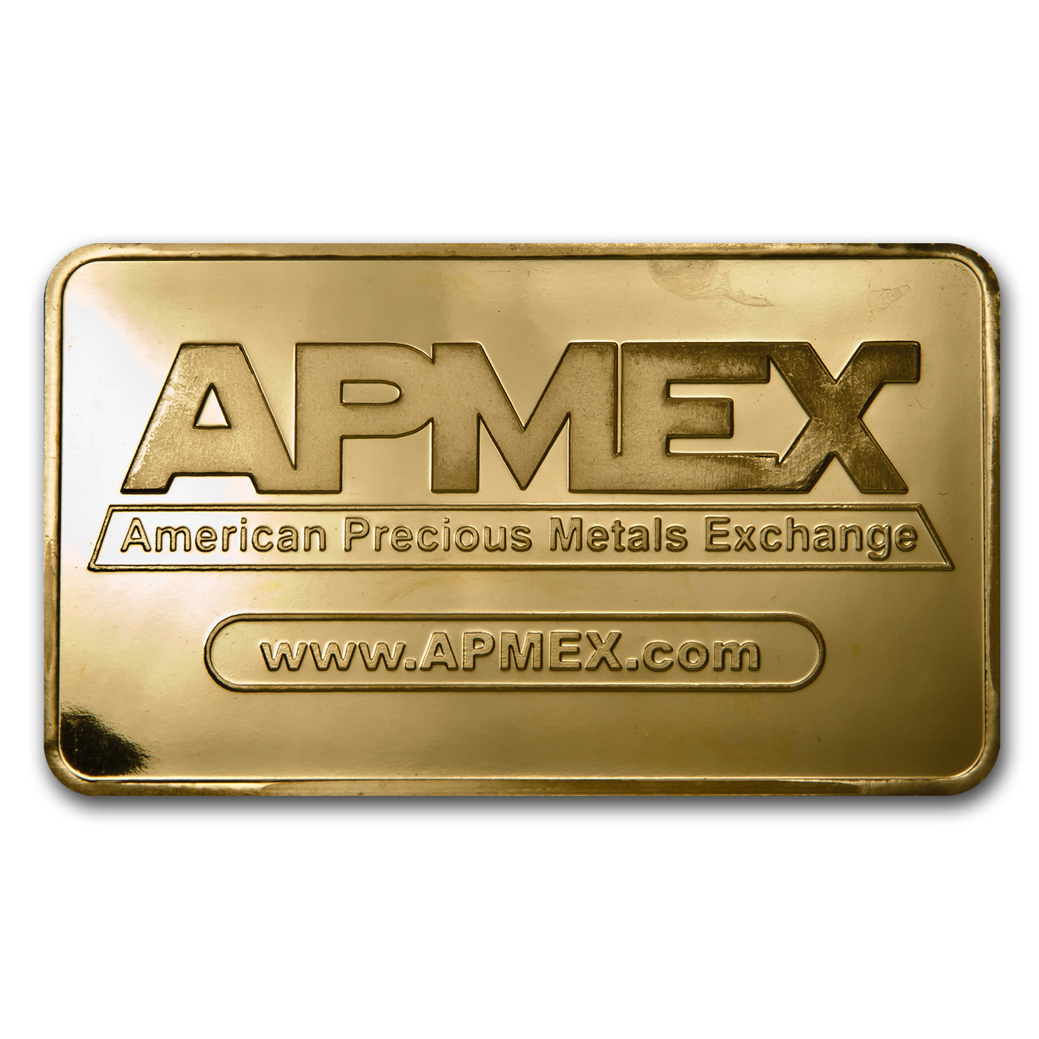 10 oz APMEX Gold Bar .9999 Fine