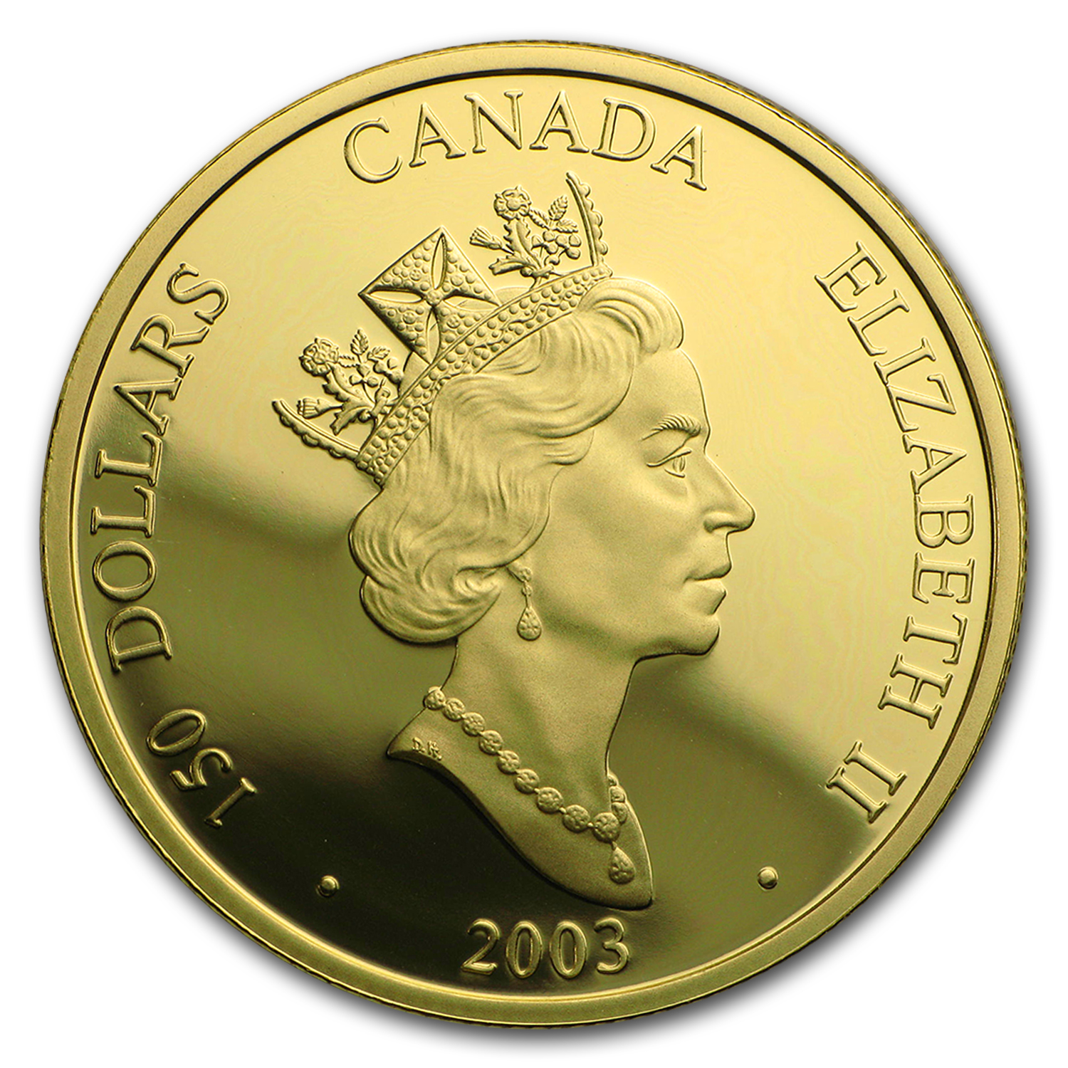 2003 Canada Gold $150 Sheep (Hologram, w/Box & COA)