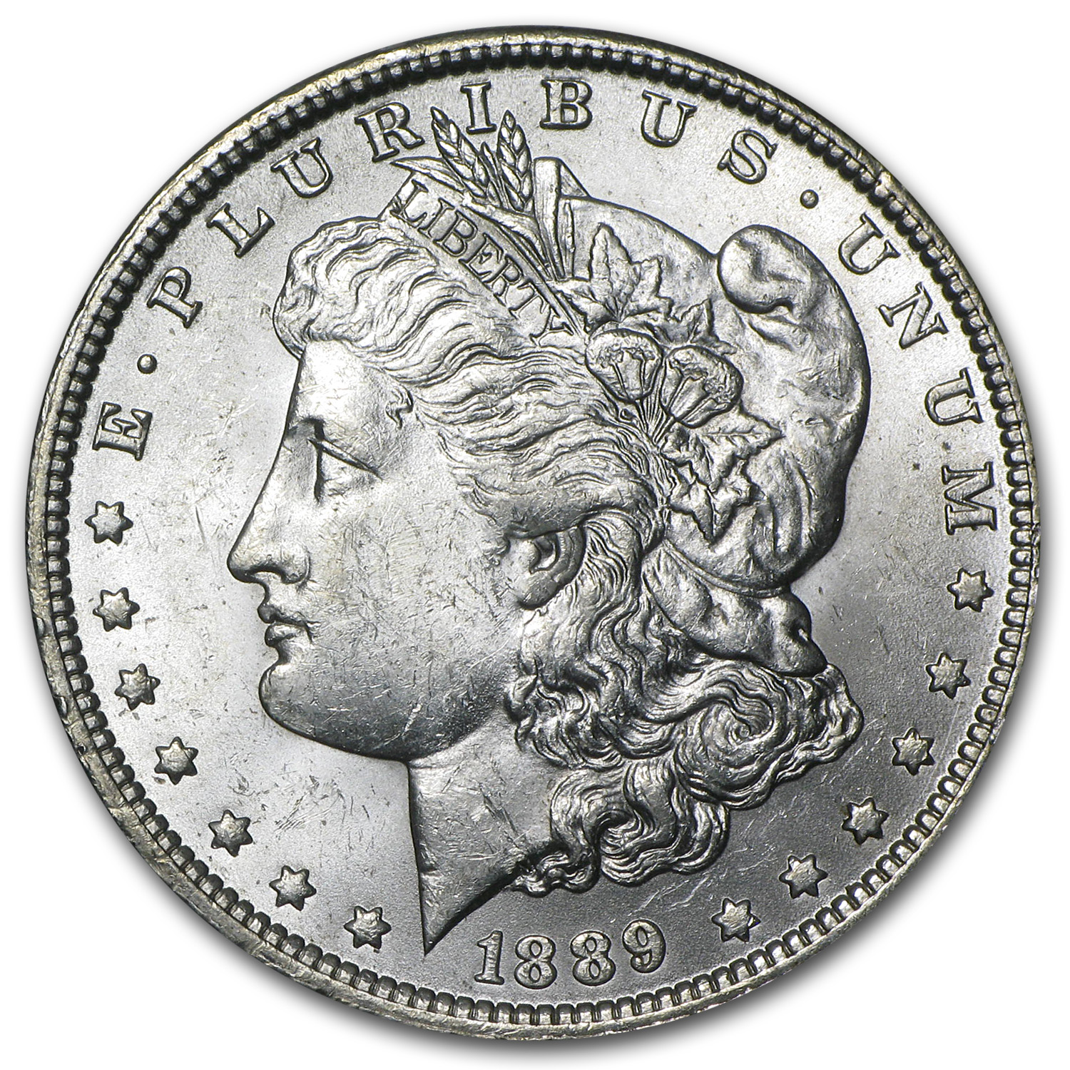 1889-O Morgan Dollar - Brilliant Uncirculated