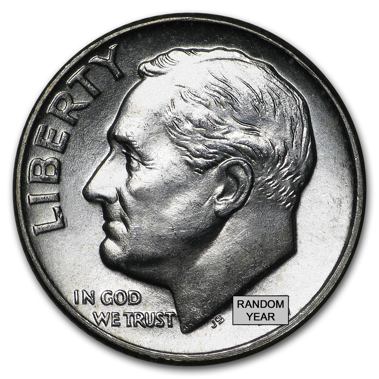 90% Silver Roosevelt Dimes $100 Face-Value Bag BU