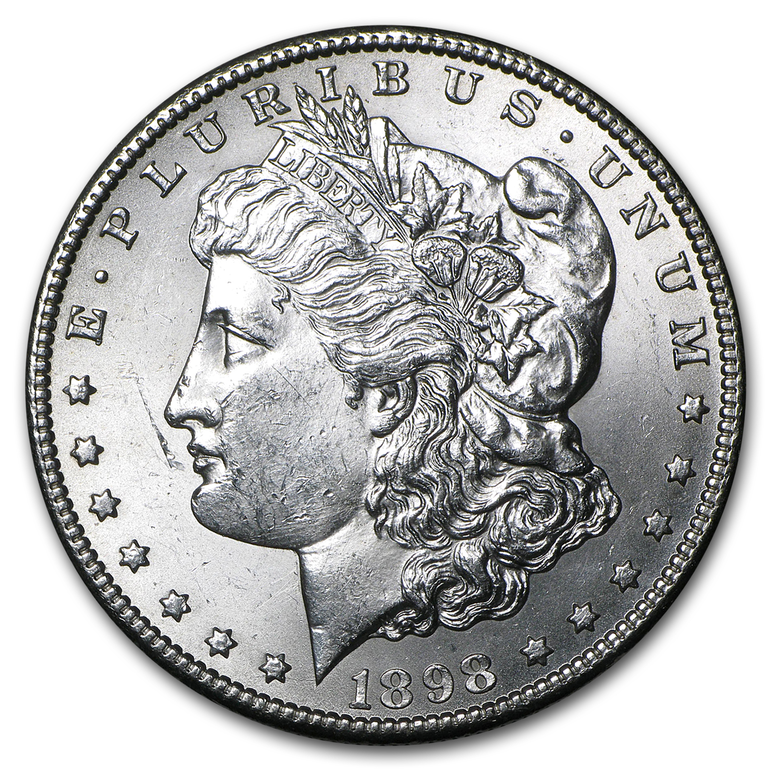 1898-S Morgan Dollar - Brilliant Uncirculated