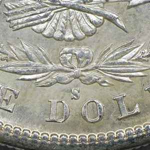 1880/79-S Morgan Dollar BU (VAM-8, Small S, Top-100)