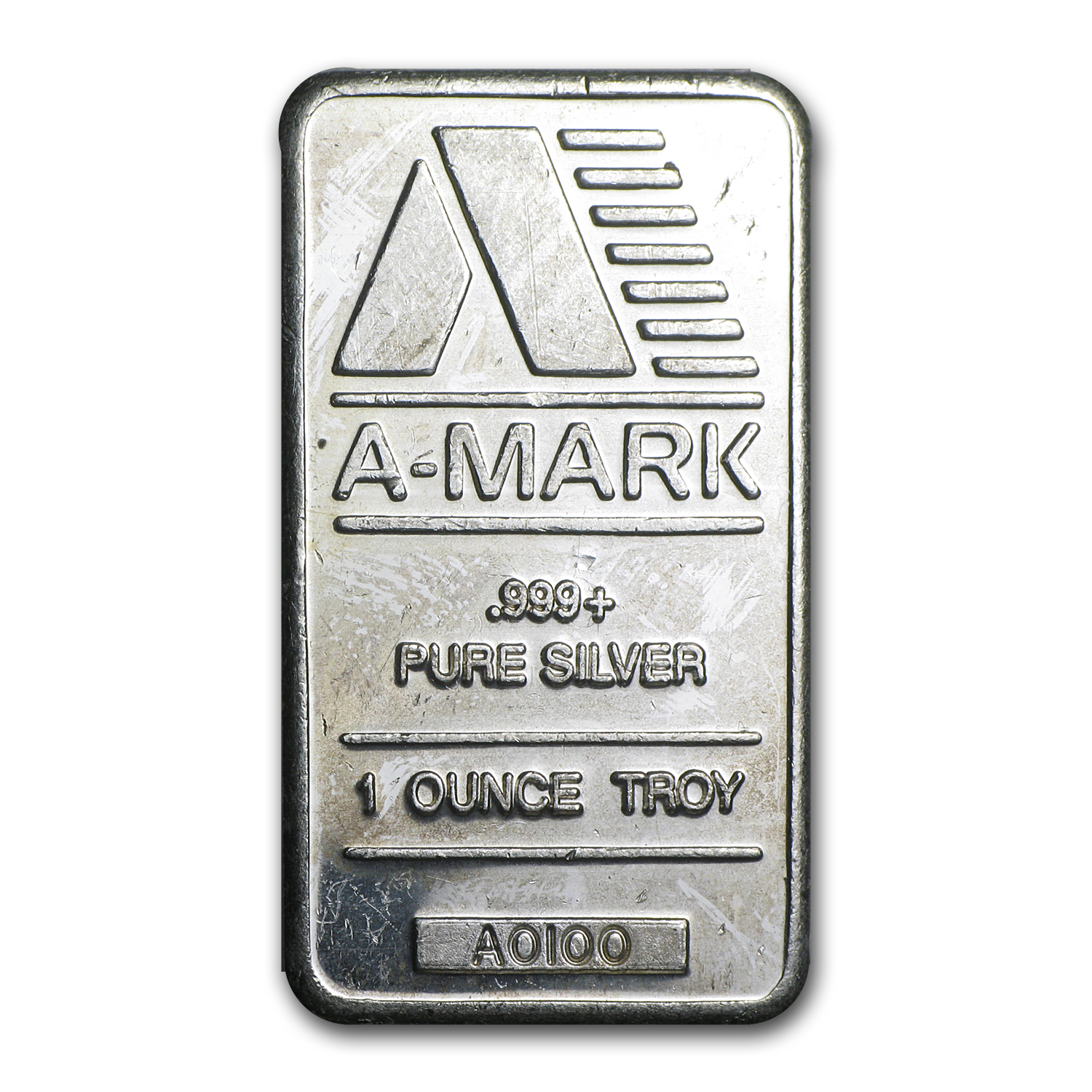 1 oz Silver Bars - A-Mark (Vintage)
