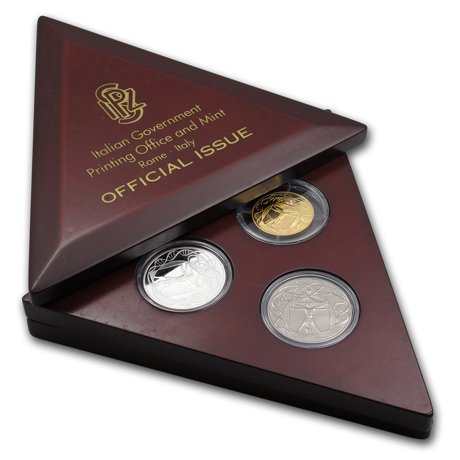 2000 3-Metals Honoring The New Millennium Proof Set (w/Box)