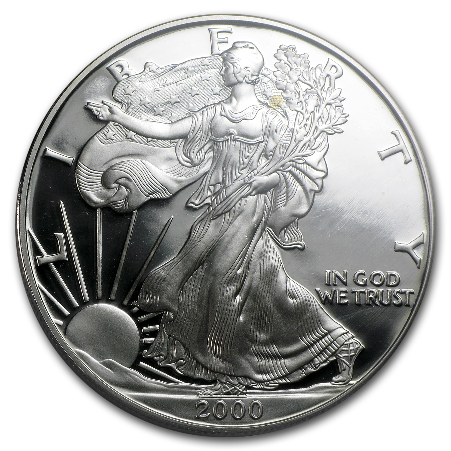 2000-P Proof Silver American Eagle PR-70 PCGS