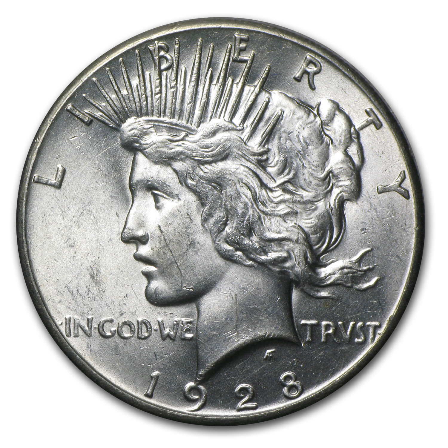 1928 Peace Dollar - Brilliant Uncirculated