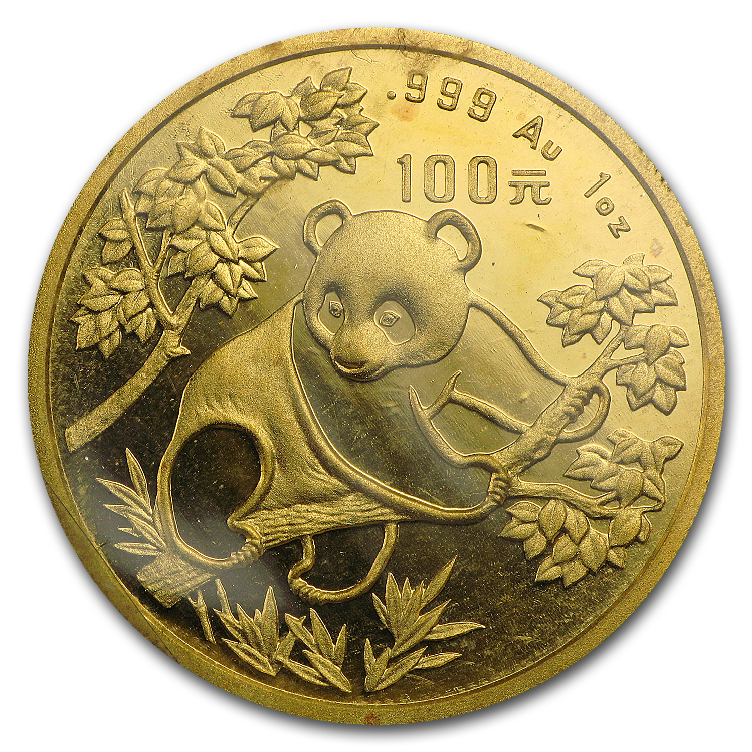 1992 1 oz Gold Chinese Panda - Large Date (Sealed)