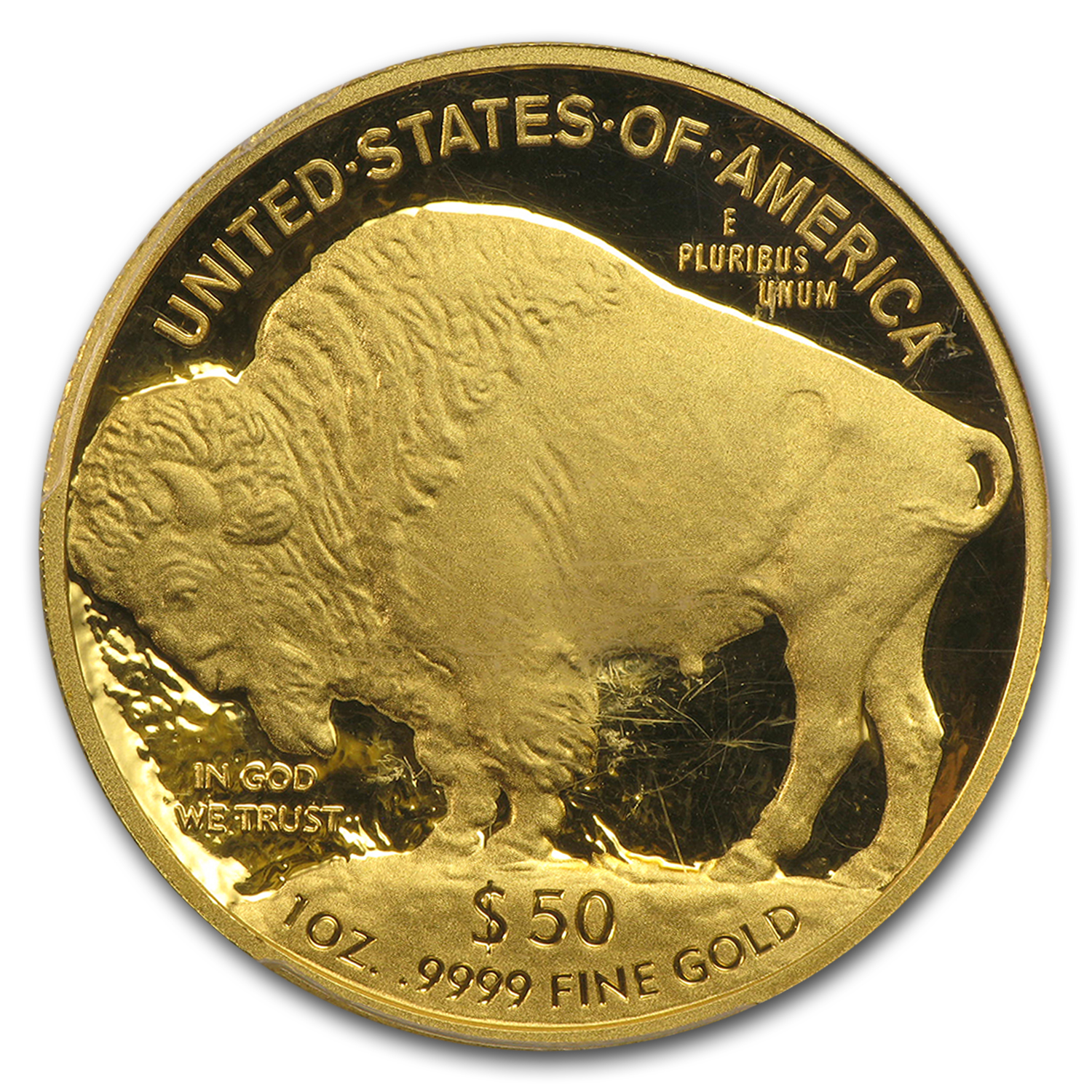 2010-W 1 oz Proof Gold Buffalo PR-70 DCAM PCGS