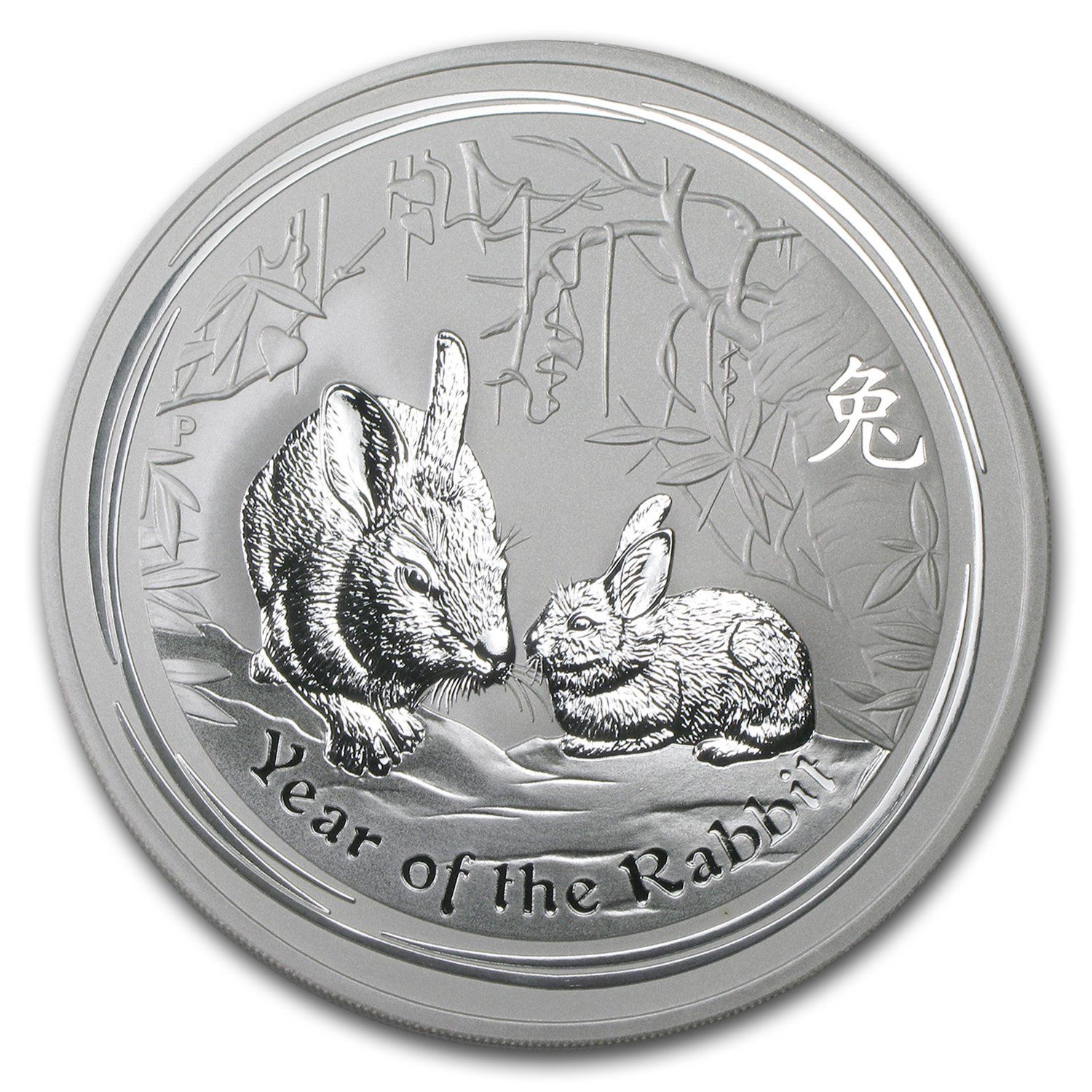 2011 Australia 10 oz Silver Year of the Rabbit BU