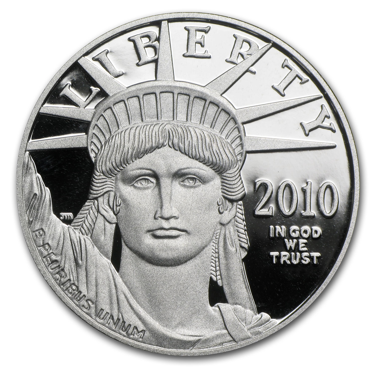 2010-W 1 oz Proof Platinum American Eagle (w/Box and CoA)